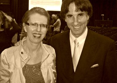 Dr John Demartini & DJ after some private conversations